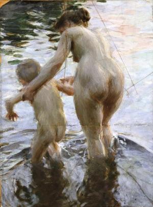 Anders Zorn - Une première, 1888