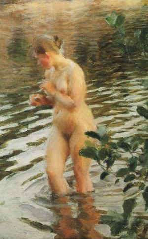 Anders Zorn - Frileuse, 1894