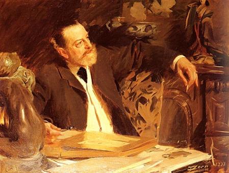 Anders Zorn - Antonin Proust, 1888