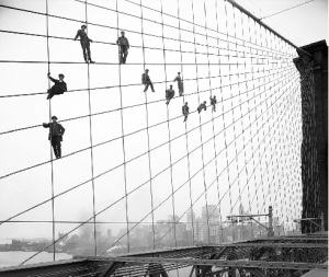 Brooklyn Bridge, 1914