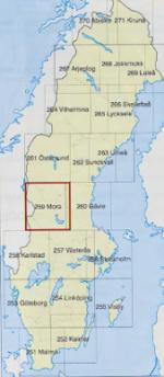 Ville de Mora en Suède