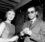 A bout de souffle - Jean-Luc Godard et Jean Seberg