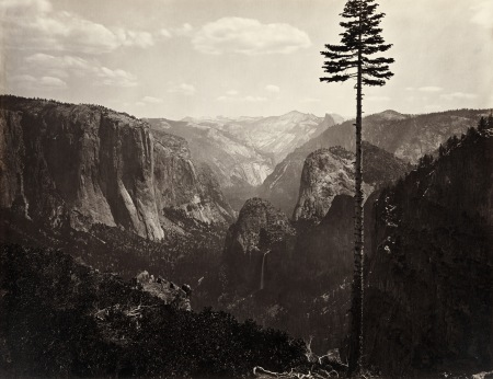 Carleton Watkins - Yosemite, Californie - vers 1865