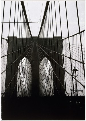 Walker Evans - Brooklyn Bridge, 1928-29