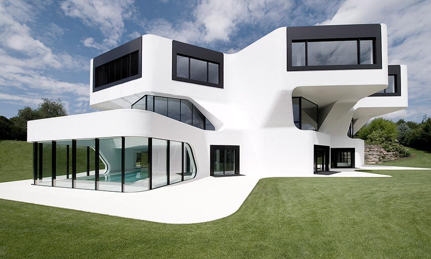 Maison Sur Terrain En Pente Exemple La Maison With Maison Sur