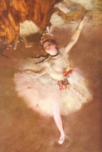 Edgar Degas - Ballet - l'étoile, vers 1878