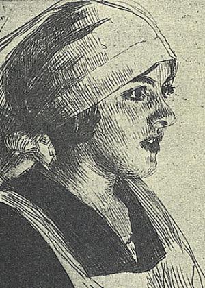 Anders Zorn - Gulli I, 1914