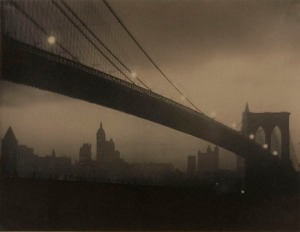Karl Struss - Brooklyn Bridge – Nocturne, ca 1912-1913