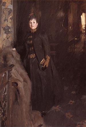 Anders Zorn - Madame Clara Rikoff, 1889