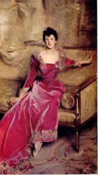 John Singer Sargent -  Mrs Hugh Hammersley, 1892-93