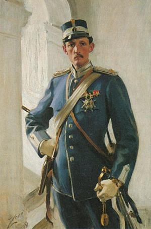 Anders Zorn - Prins Carl, 1898