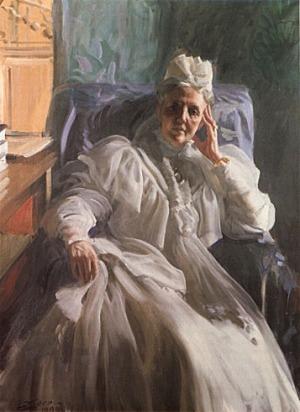Anders Zorn - Queen Sophia, 1909
