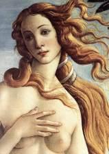 Sandro Botticelli - la naissance de Vénus, détail - 1485