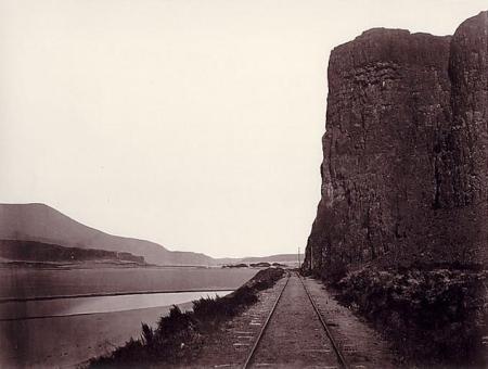Carleton Watkins - Cape Horn près de Celilo, 1867