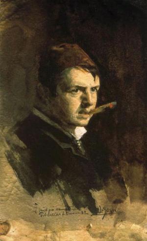 Anders Zorn - autoportrait, 1882