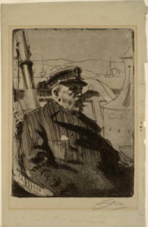 Anders Zorn - King Oscar II (Oscar Friedrik, King of Sweden (1872-1907), 1898