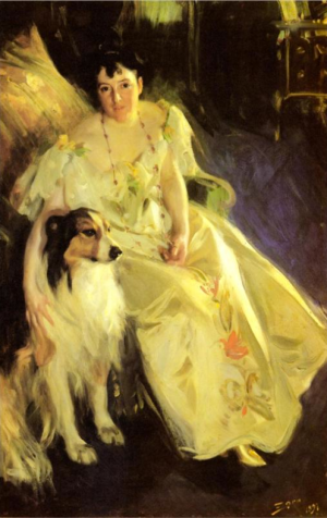 Anders Zorn - Mrs Bacon, 1897