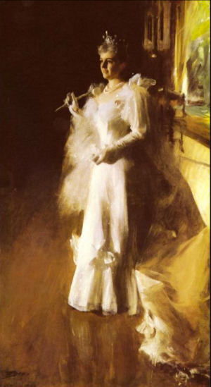 Anders Zorn - Mrs Potter Palmer, 1893