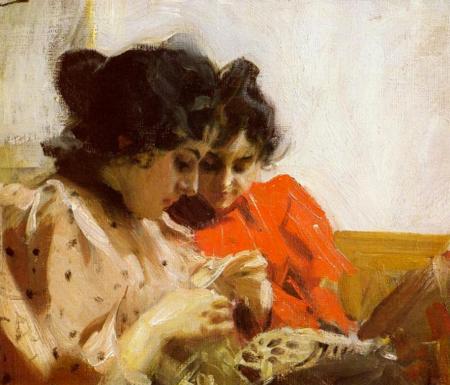 Anders Zorn - Spetssom, 1894