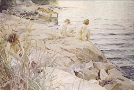 Anders Zorn - Ute, 1888