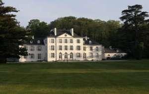 Domaine de Kerbastic, près de Lorient, ancienne résidence des Polignac