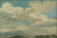 Pierre-Henri de Valenciennes - Etude de ciel au Quirinal, vers 1780
