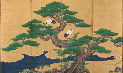 Auspicious-pine-bamboo-plum-crane-turtles