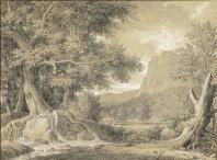 Pierre-Henri de Valenciennes - Byblis transformée en Fontaine, 1790