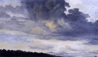 Pierre-Henri de Valenciennes - Etude de nuages 1780