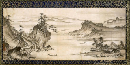 Shokei Kenko - Landscape, Sansuizu Muromachi period, late 15th-early 16th century - Museum of Fine Arts, Boston