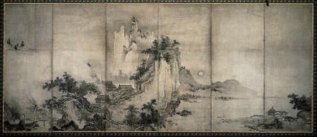 Unkoku Togan - Landscapes, 16th-17th century - Museum of Fine Arts, Boston