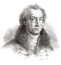 Johann Wolfgang von Gœthe (1749-1832) par Delacroix