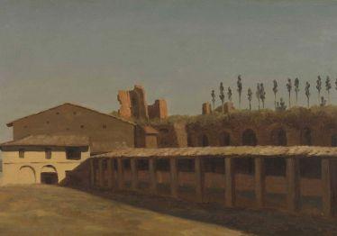 Pierre-Henri de Valenciennes - Etable et maison sur le mont Palatin, 1782-1784.