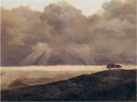 Pierre-Henri de Valenciennes – Orage en bord de mer, date inconnue