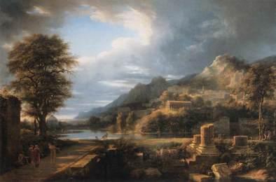 Pierre-Henri de Valenciennes - l'ancienne cité d'Agrigente, 1787
