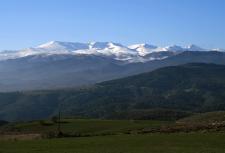 Sierra Nevada - vista desde Diezma