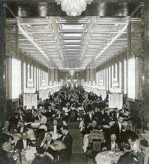 Le Normandie - La salle à manger de la 1ère classe