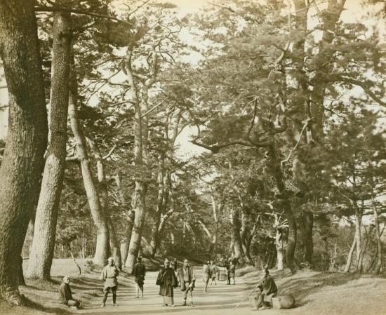 la route du Tokaido en 1825