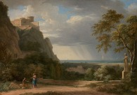 Pierre-Henri de Valenciennes - Orage en bord de mer, 1788