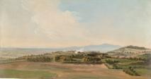 Pierre-Henri de Valenciennes - Campagne à proximité de Rome