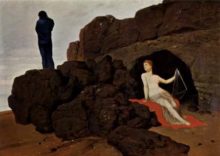 Arnold Böcklin - Ulysse et Calypso, 1880
