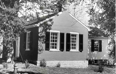 Arrow Rock : maison Bingham