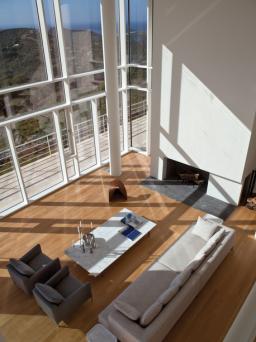 Richard Meier - Douglas house - living-room