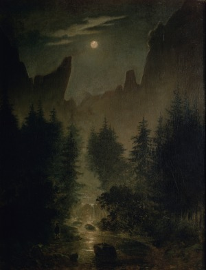 Caspar David Friedrich - Uttewalder grund.
