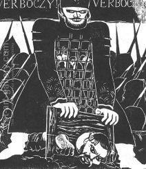 Derkovits Gyula - Dozsa-sorozat X. Verbœczy, 1928