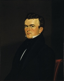 George Caleb Bingham (1811-1879) - autoportrait vers 1834-35