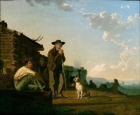 George Caleb Bingham - The Squatters, 1850