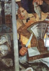 Derkovits Gyula - Vendeur de poissons, 1930