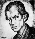 Derkovits Gyula (1894-1934) - autoportrait de 1921
