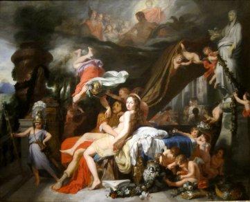 Gérard de Lairesse - Hermes ordonne à Calypso de relâcher Ulysse, 1670